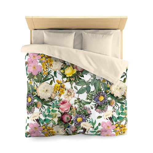 Melody's Garden Microfiber Duvet Cover