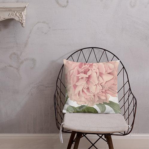 Big Pink Flower Premium Pillow