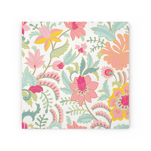 Blooming Pastels Wood Canvas