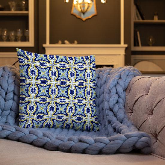 Italian Tile #200 Premium Pillow