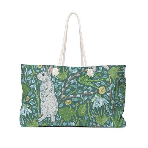 Bunny Garden Weekender Bag