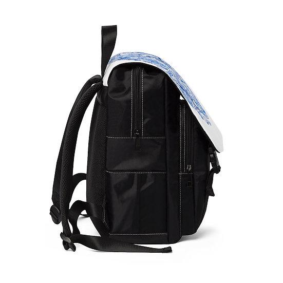 Blue Earth Shoulder Backpack