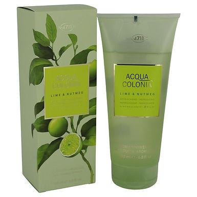 4711 Acqua Colonia Lime & Nutmeg Shower Gel By 4711