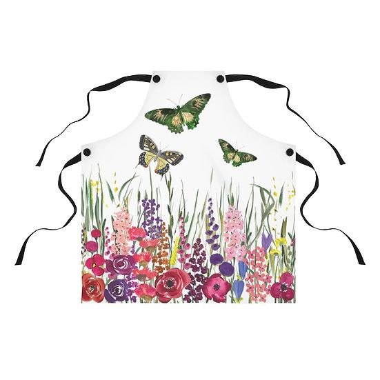Butterfly Garden Apron