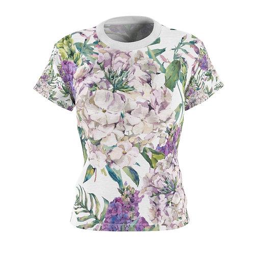 Hydrangea and Lilac Garden Women's Tee