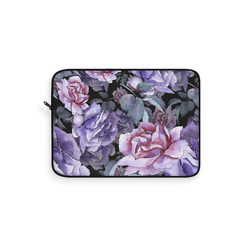 Lavender Rose Laptop Sleeves