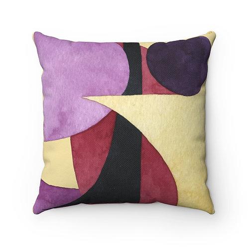 Modular Spun Polyester Square Pillow