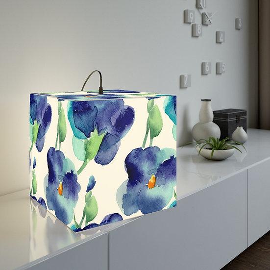 Blue Petunia 2  Lamp
