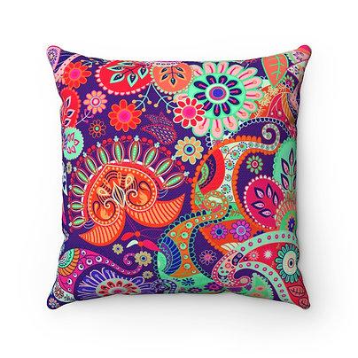 Spun Polyester Square Pillow
