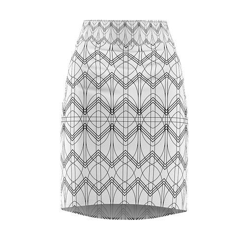 Ard Deco Pencil Skirt