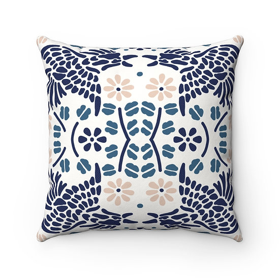 Japanese Decor #11 Spun Polyester Square Pillow