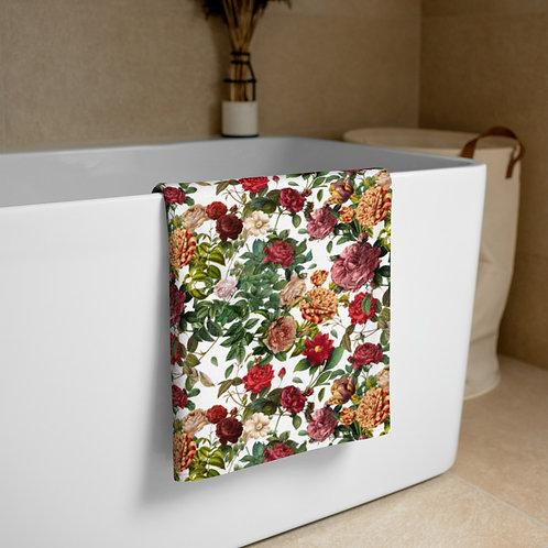 A Rose Garden Towel