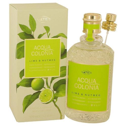 4711 Acqua Colonia Lime & Nutmeg Eau De Cologne Spray By 4711