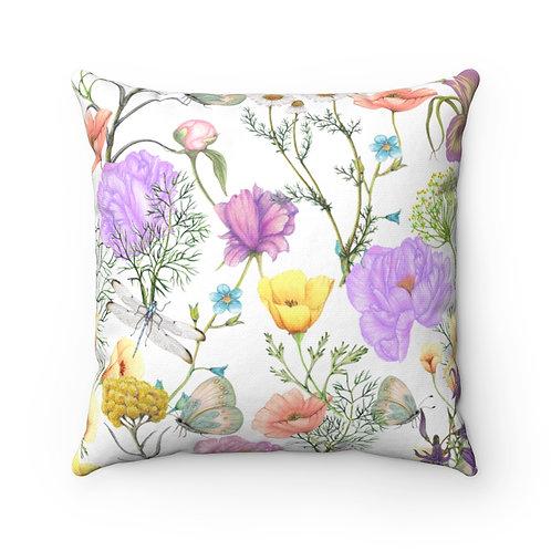 Mellie Spun Polyester Square Pillow