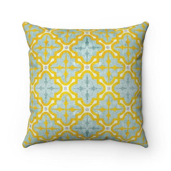 Norene 1 Spun Polyester Square Pillow