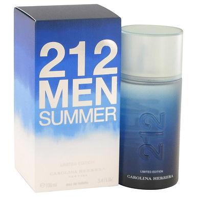 212 Summer Eau De Toilette Spray (Limited Edition) By Carolina Herrera