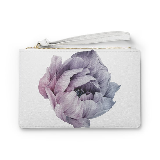 Lavender Peony 22 Clutch Bag