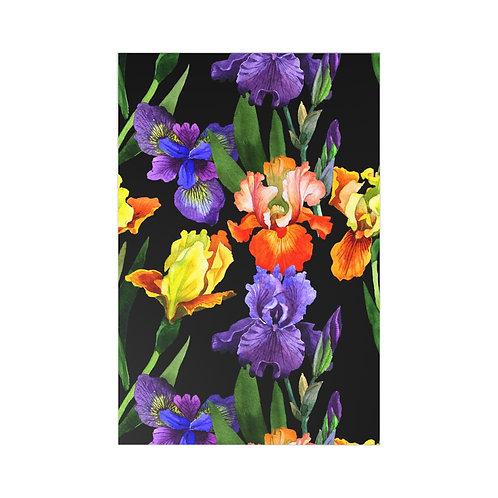 Colorful Iris Postcards (7 pcs)