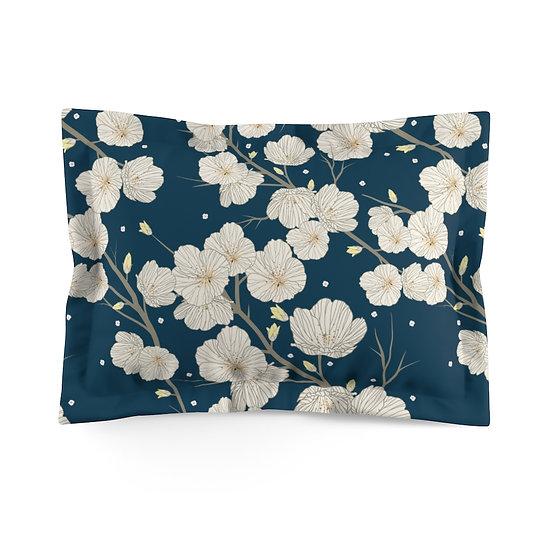 Spring Blossoms Microfiber Pillow Sham