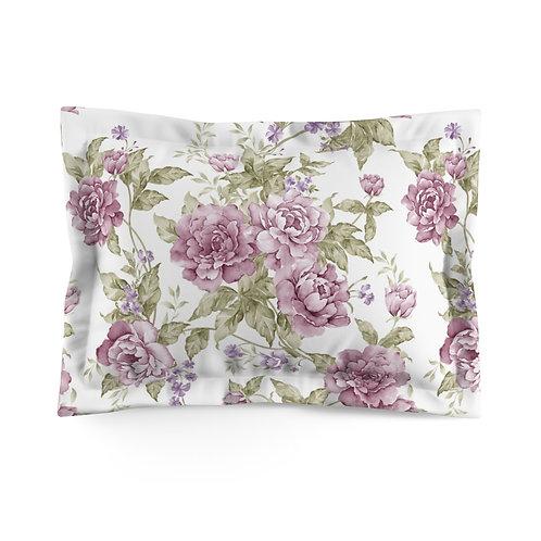 Lavender Rose Microfiber Pillow Sham