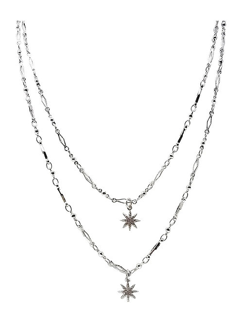 Gold Plated Layered Necklace J02 - 3 Colors