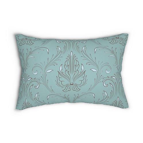 Melanie Spun Polyester Lumbar Pillow