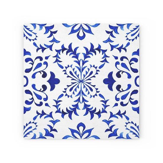Italian Tile # 4 Wood Canvas
