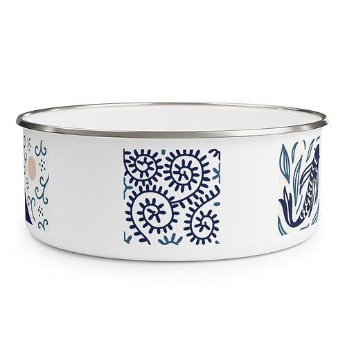 Japanese Style Enamel Bowl