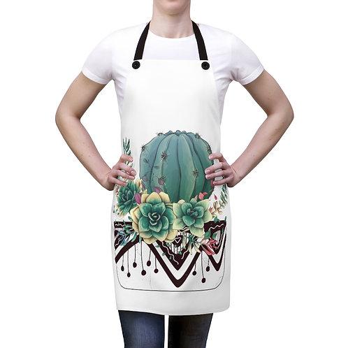 Cactus Garden Apron
