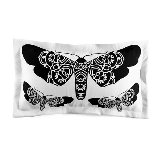 Butterflies Microfiber Pillow Sham