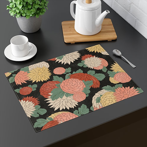 Graphic Flower Placemat
