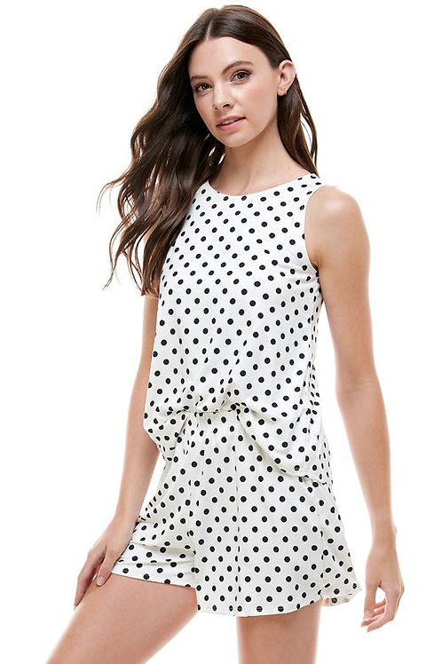 Loungewear set Polka dots pajama