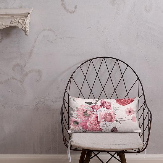 Pink Cascade Premium Pillow