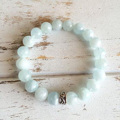 4mm Aquamarine Bracelet