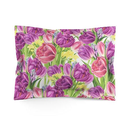 Lavender Microfiber Pillow Sham