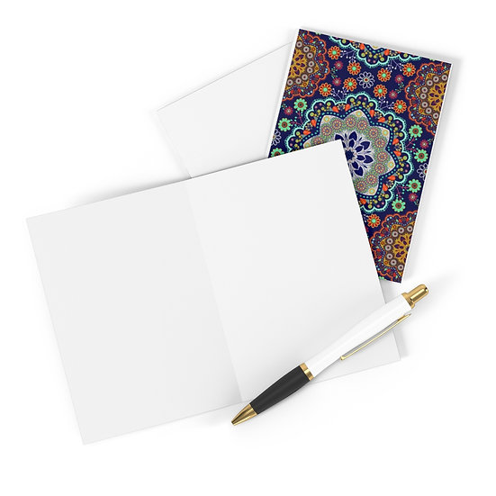 Mandala Set Greeting Cards (8 pcs)