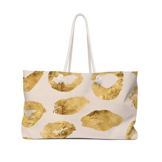 Golden Kisses Weekender Bag