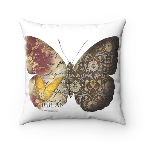 Copy of Papyrus Butterfly Spun Polyester Square Pillow