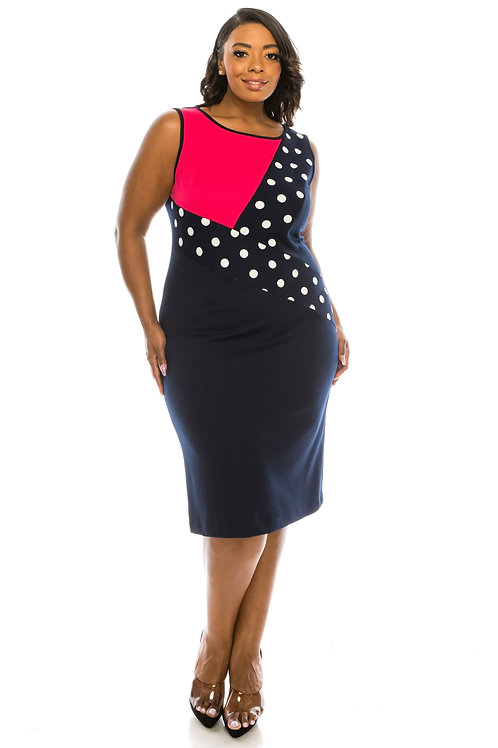 A vibrant, refined two piece ensemble featuring an open front