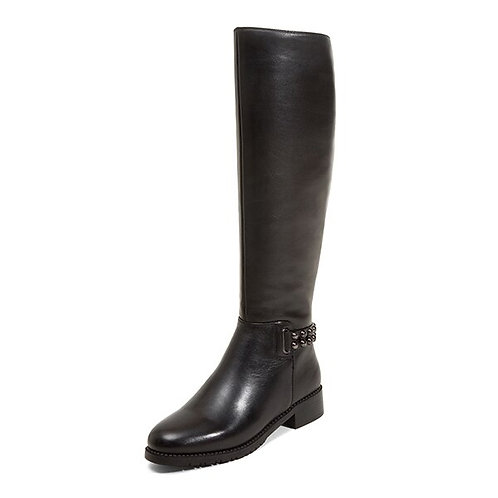 High Quality Genuine Leather Round Toe Boots