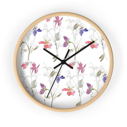 Delicate Watercolor Wall clock