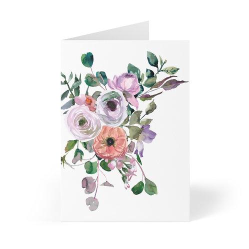 Bouquet #5 Greeting Cards (8 pcs)