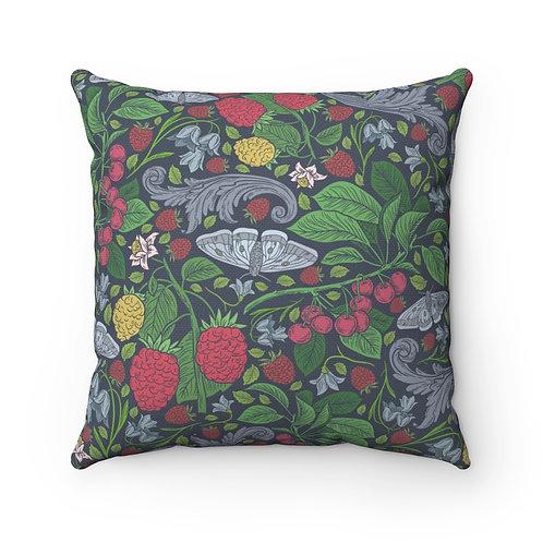 Evie's Garden Spun Polyester Square Pillow