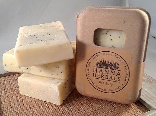 Lemon Poppyseed Soap - soap - bar soap - soap bar