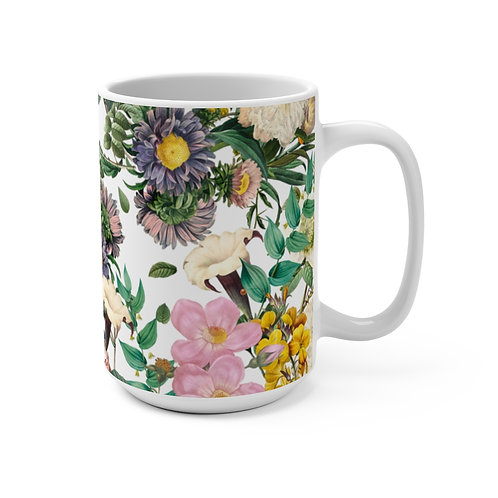 Floral (#01) Mug 15oz