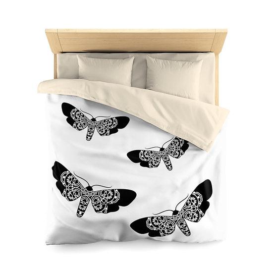 Butterflies Microfiber Duvet Cover