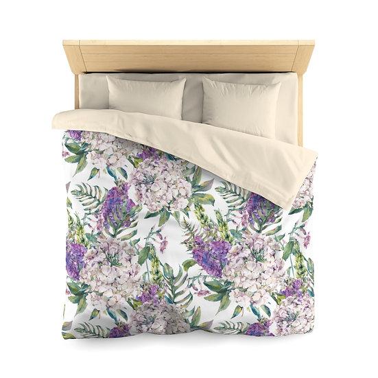 Lilac Microfiber Duvet Cover