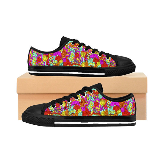 Allover Color Women's Sneakers
