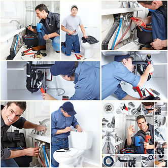 Servie 4 Plumbing Friendly plumber working
