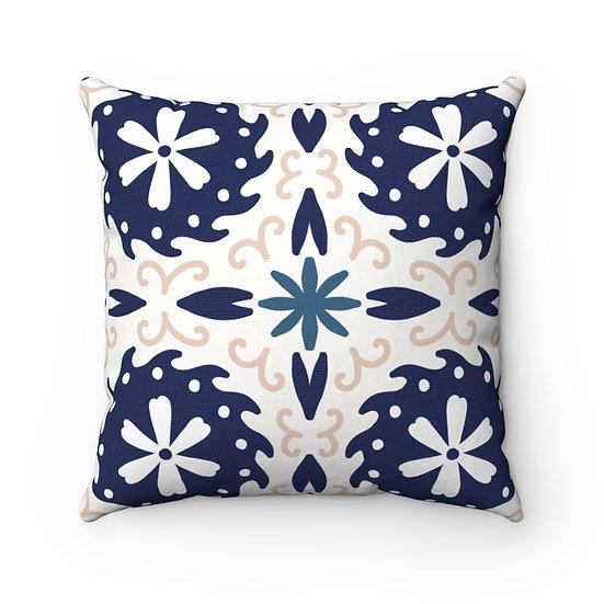 Japanese Decor #12 Spun Polyester Square Pillow
